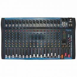 Mesa de Som / Mixer 16 Canais c/ USB OMX 162 - Oneal