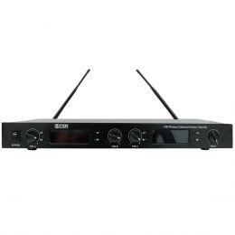 Sistema s/ Fio c/ 4 Microfones Gooseneck UHF CSR840B - CSR