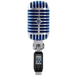 SUPER55 - Microfone c/ Fio de Mão SUPER 55 DELUXE - Shure