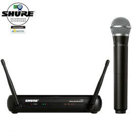 SVX24BRPG58 - Microfone s/ Fio de Mão UHF SVX 24BR PG58 - Shure