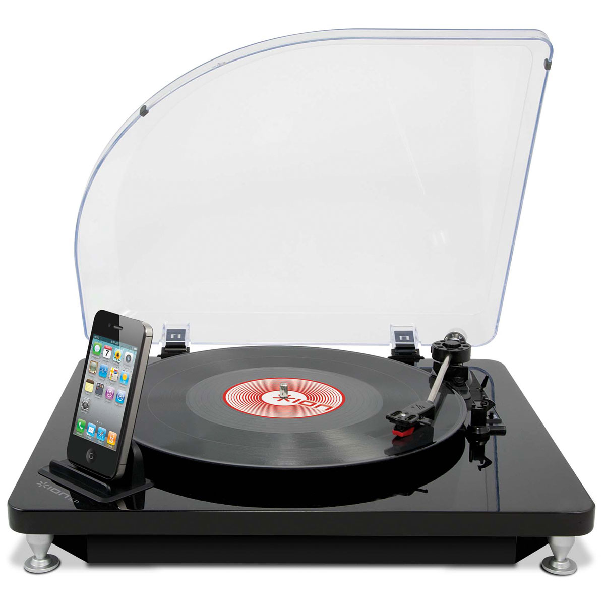 iLPUSB - Toca Discos / Pick-up p/ iPad, iPod Touch e iPhone iLP USB - ION