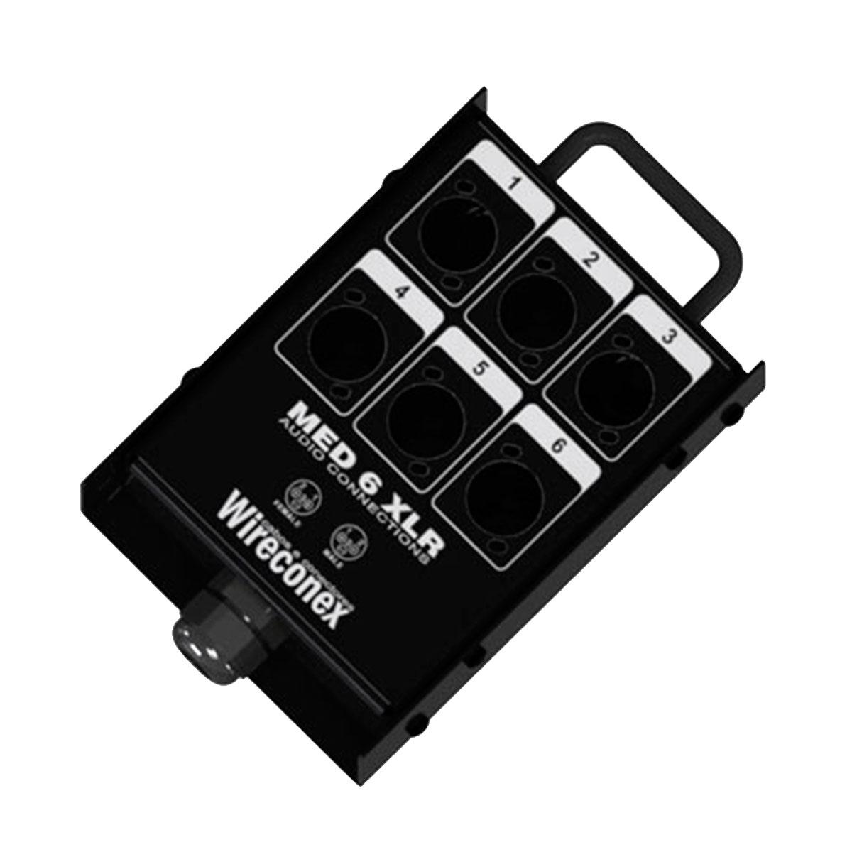 Painel sem Conectores 6 Furos 1 Prensa - Wireconex