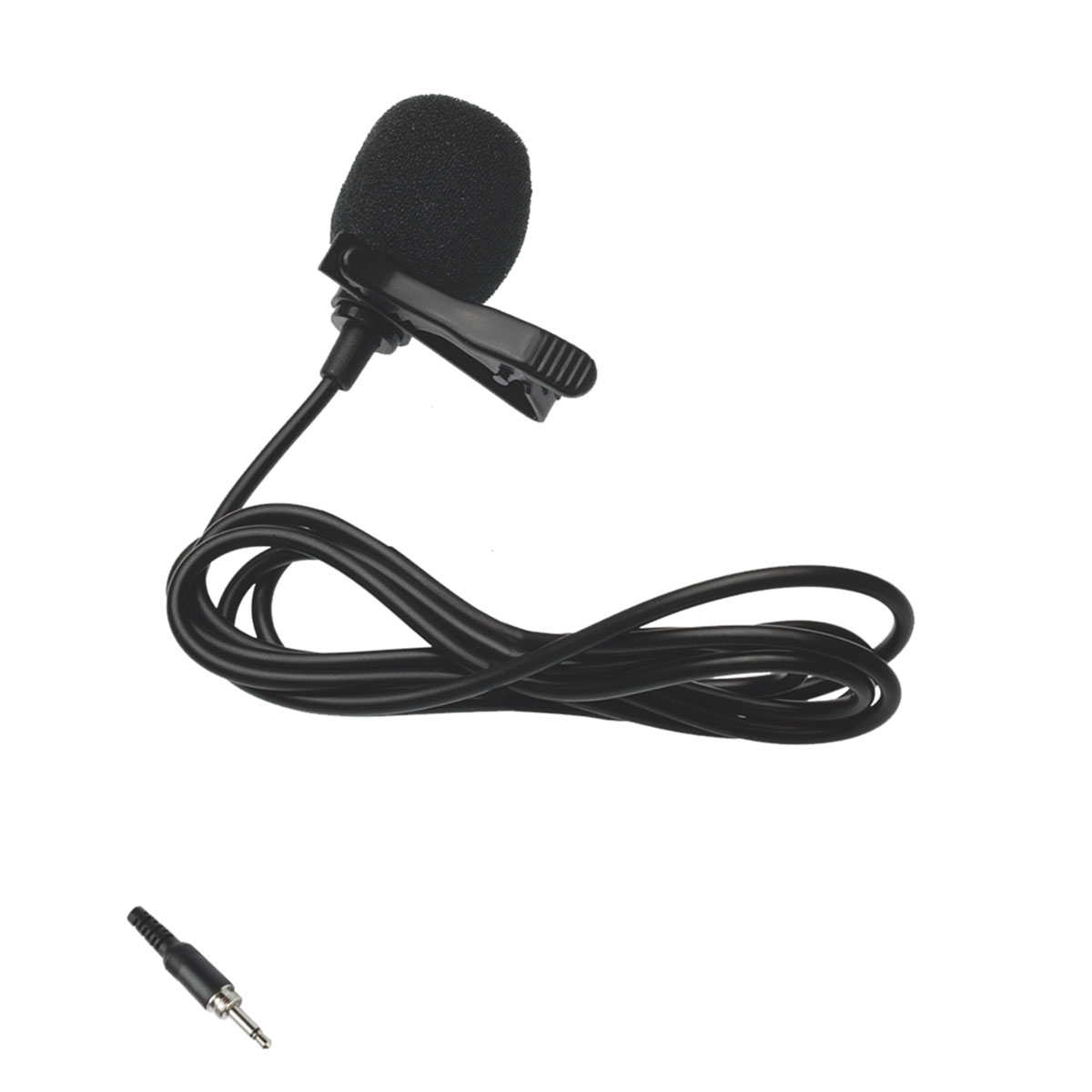 LVM01P2 - Microfone c/ Fio Lapela LVM 01 P2 - Lyco