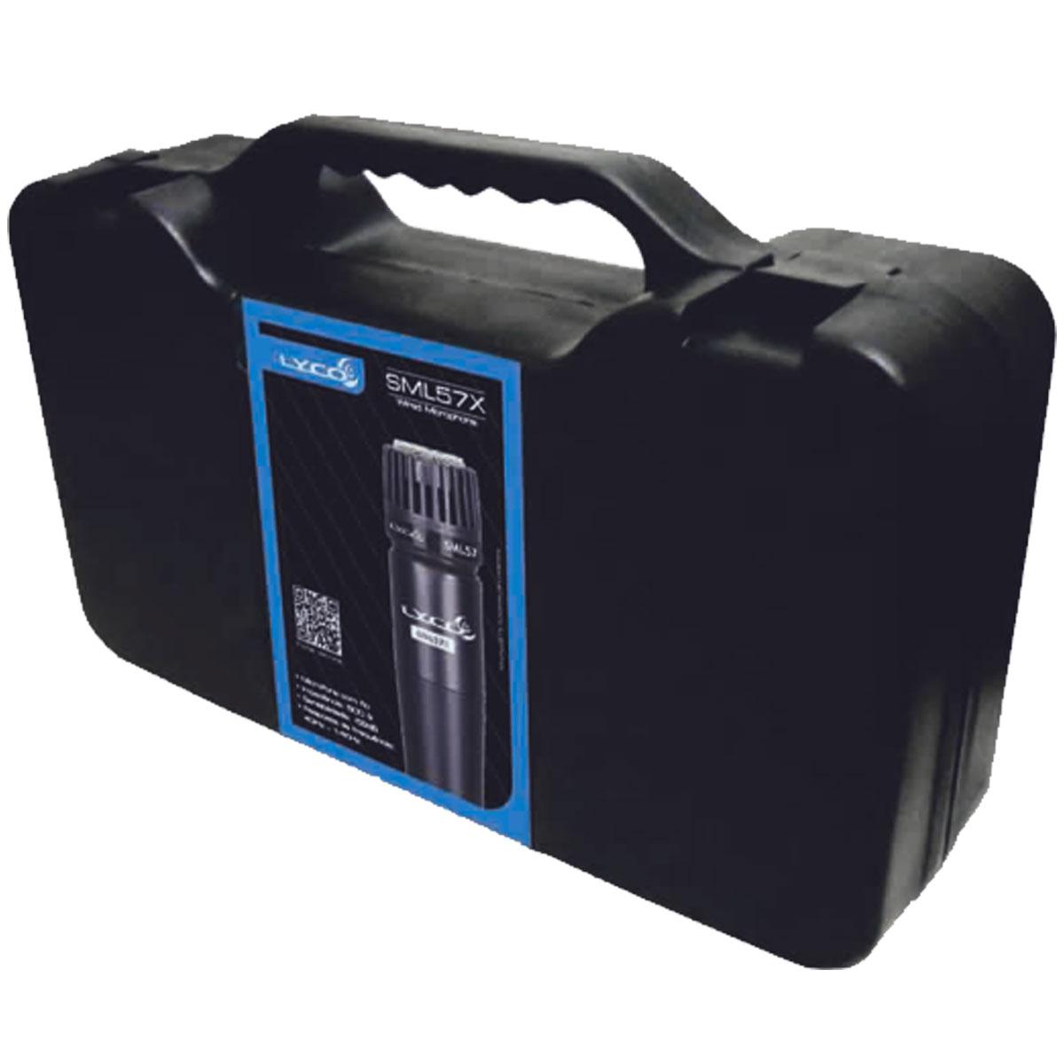 Microfone c/ Fio de Mão SML 57 X - Lyco