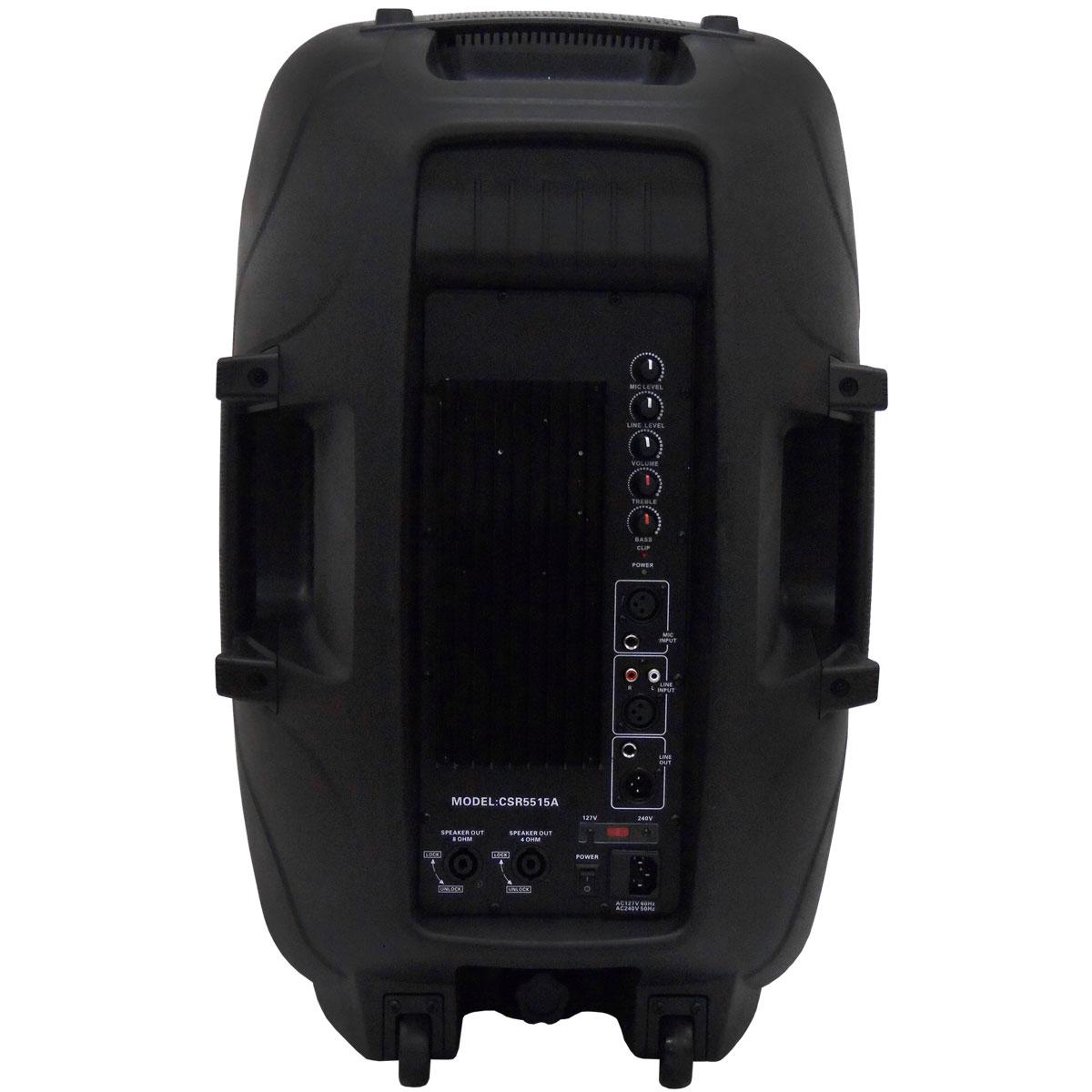 5515A - Caixa Ativa 300W CSR 5515 A - CSR