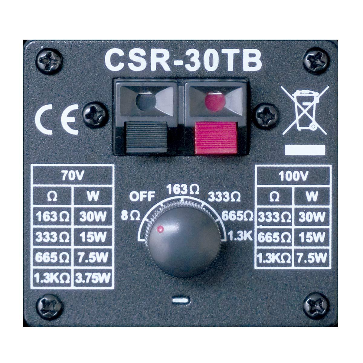 Caixa Passiva p/ Som Ambiente Fal 4 Pol 30W c/ Suporte (Par) - 30 TB CSR
