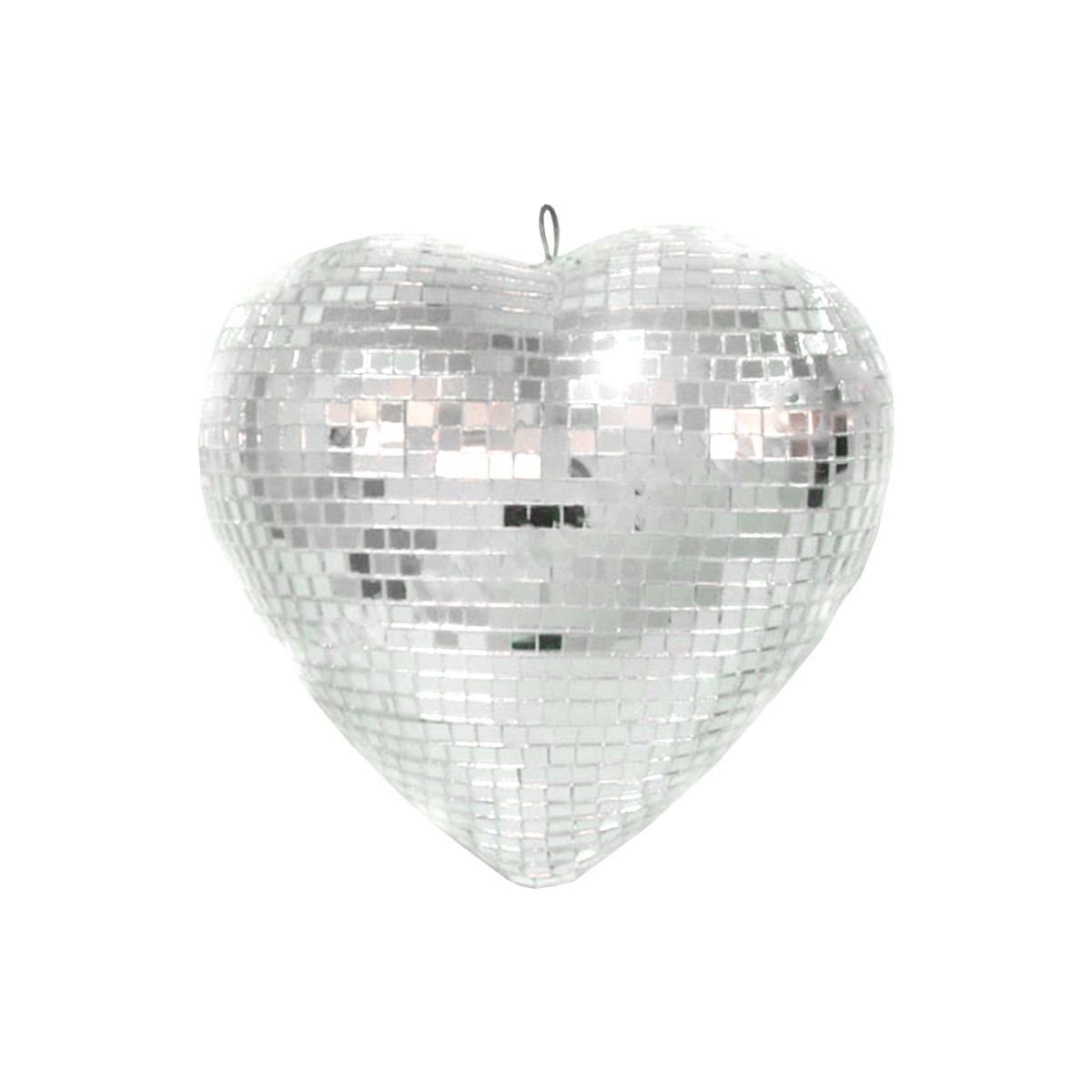 Coração Espelhado 20cm - Magma
