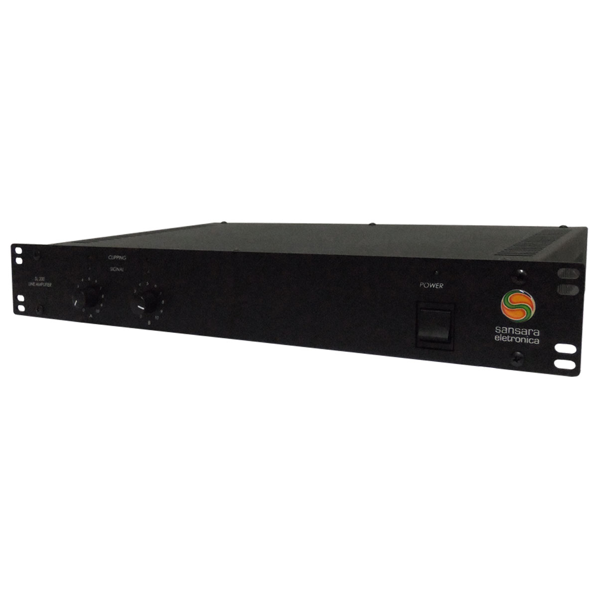 SL200 - Amplificador de Linha Mono / Estéreo 200W SL 200 - Sansara
