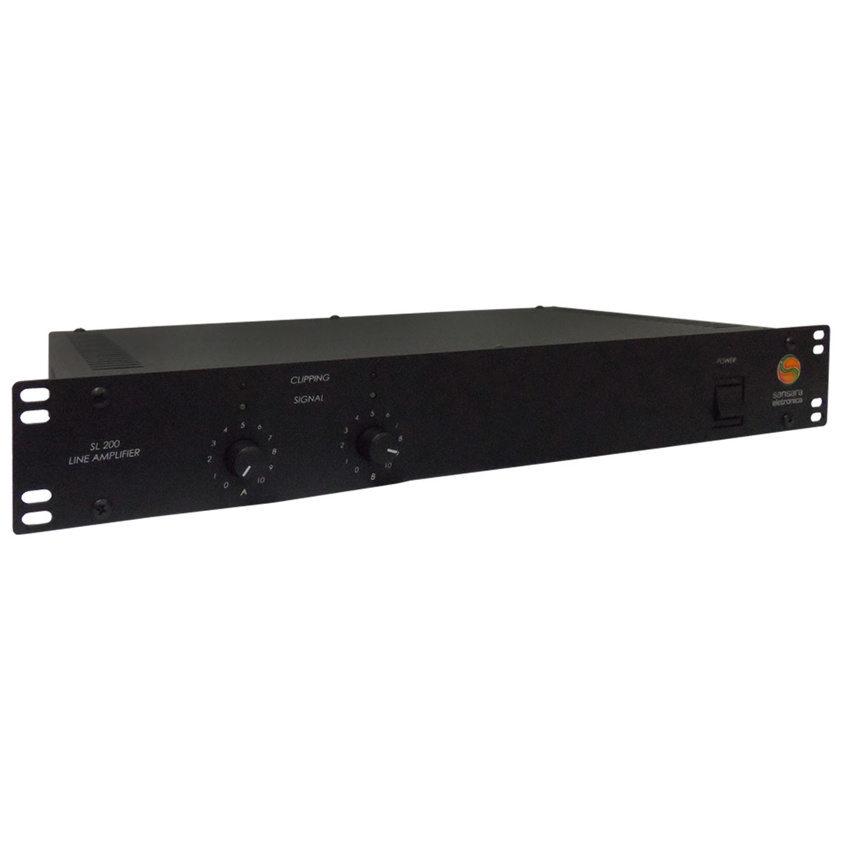 SL200 - Amplificador de Linha Mono / Est�reo 200W SL 200 - Sansara