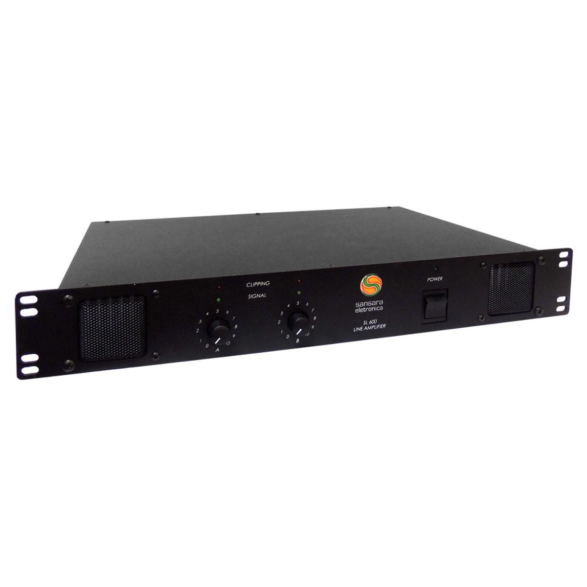 SL600 - Amplificador de Linha Estéreo 600W SL 600 - Sansara