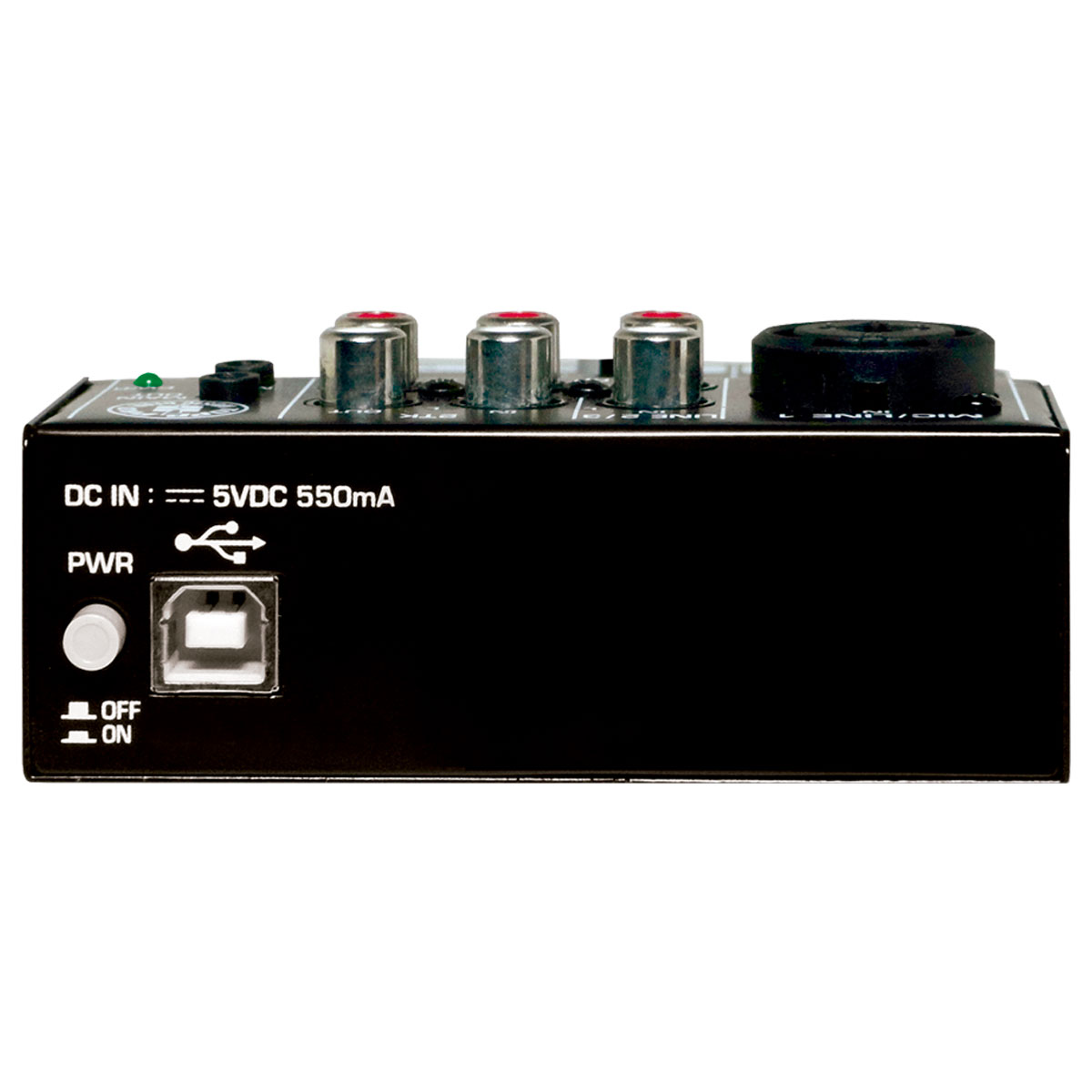 MX3BT - Mesa de Som / Micro Mixer 3 Canais c/ Bluetooth e USB MX 3 BT - CSR