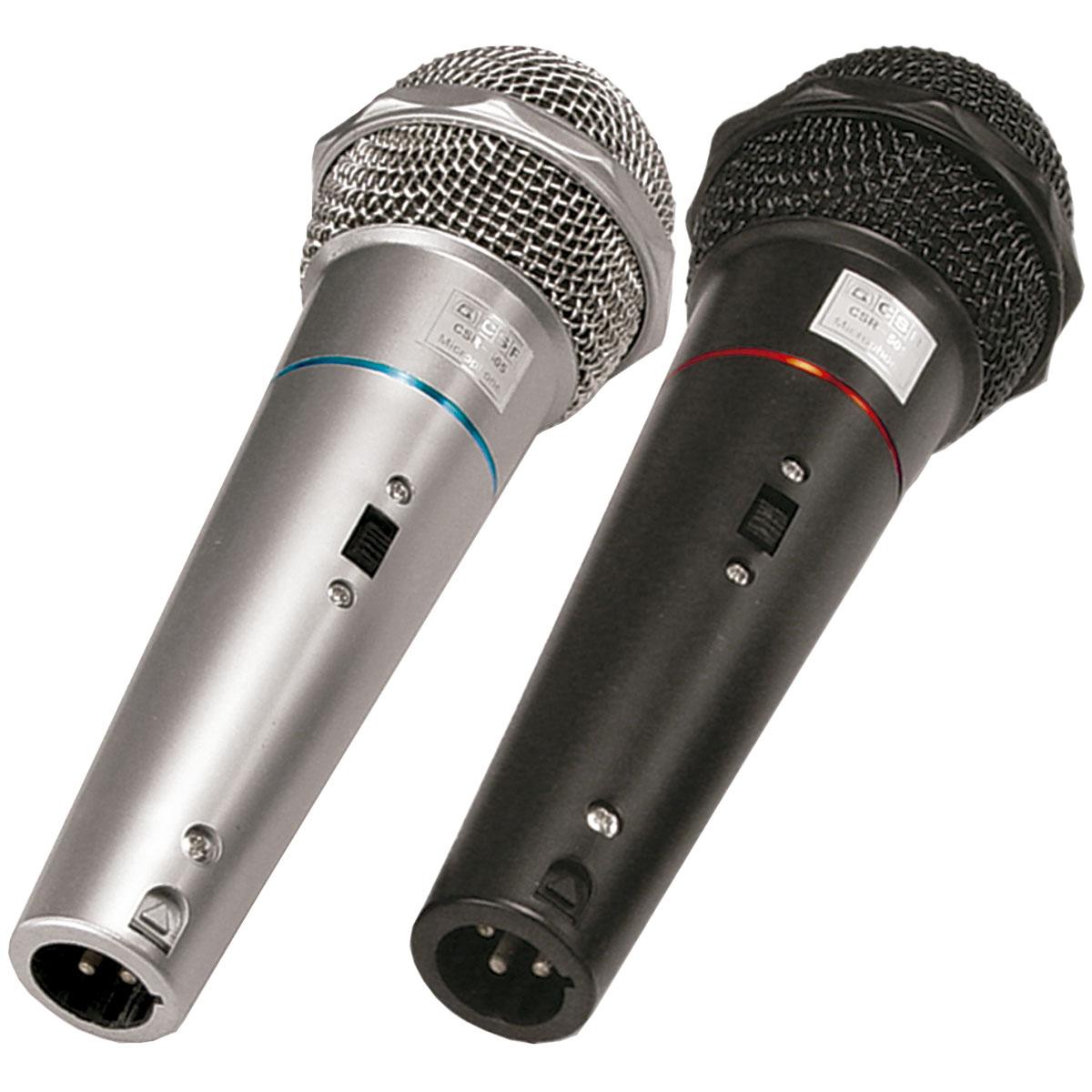 CSR505 - Kit 2 Microfones c/ Fio de M�o CSR 505 - CSR