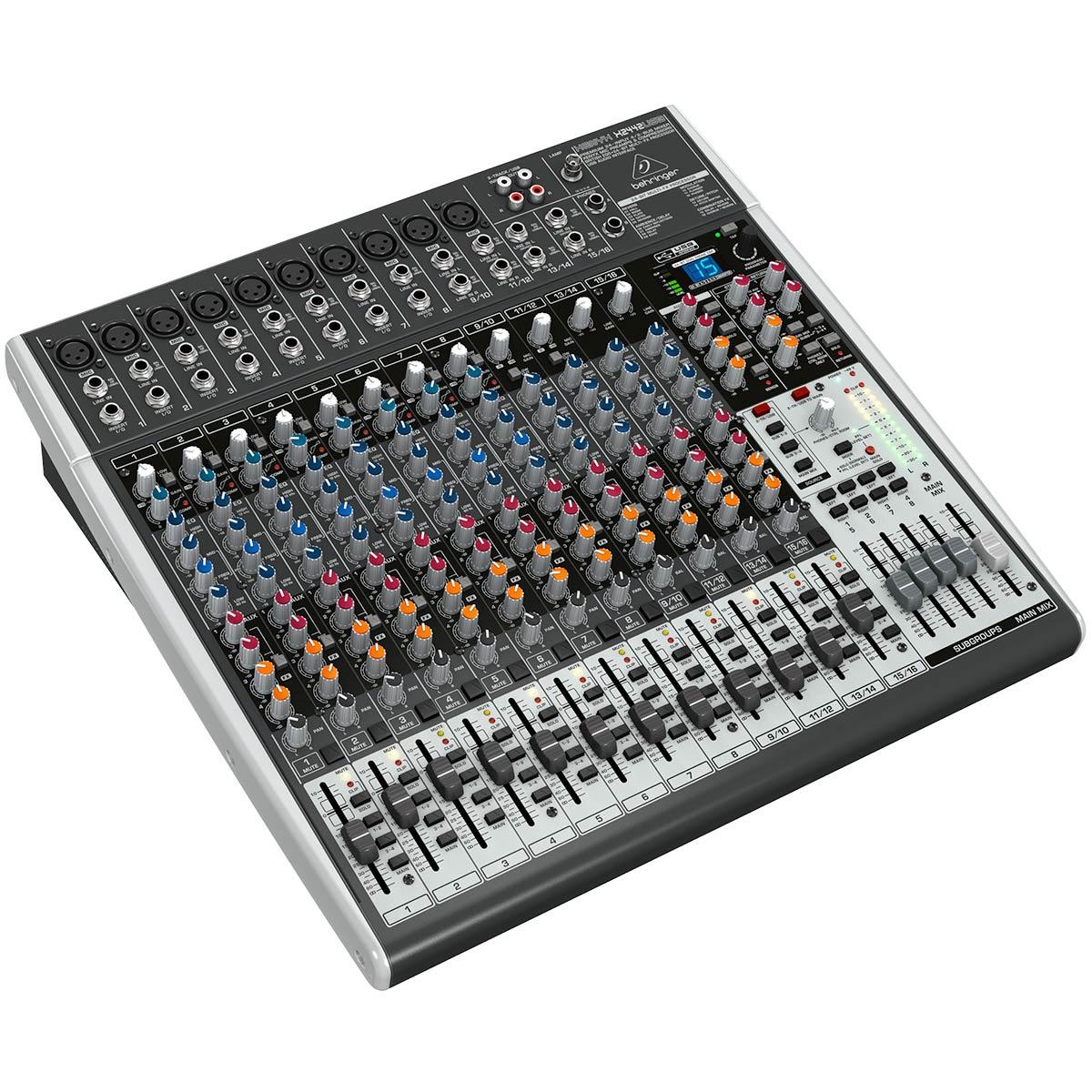 X2442USB - Mesa de Som / Mixer 24 Canais Xenyx X 2442 USB - Behringer