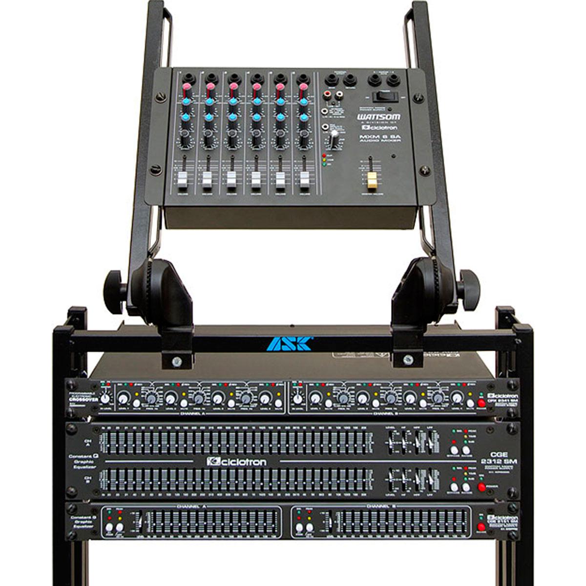 MXM6SA - Mesa de Som / Mixer 6 Canais MXM 6 SA - Ciclotron
