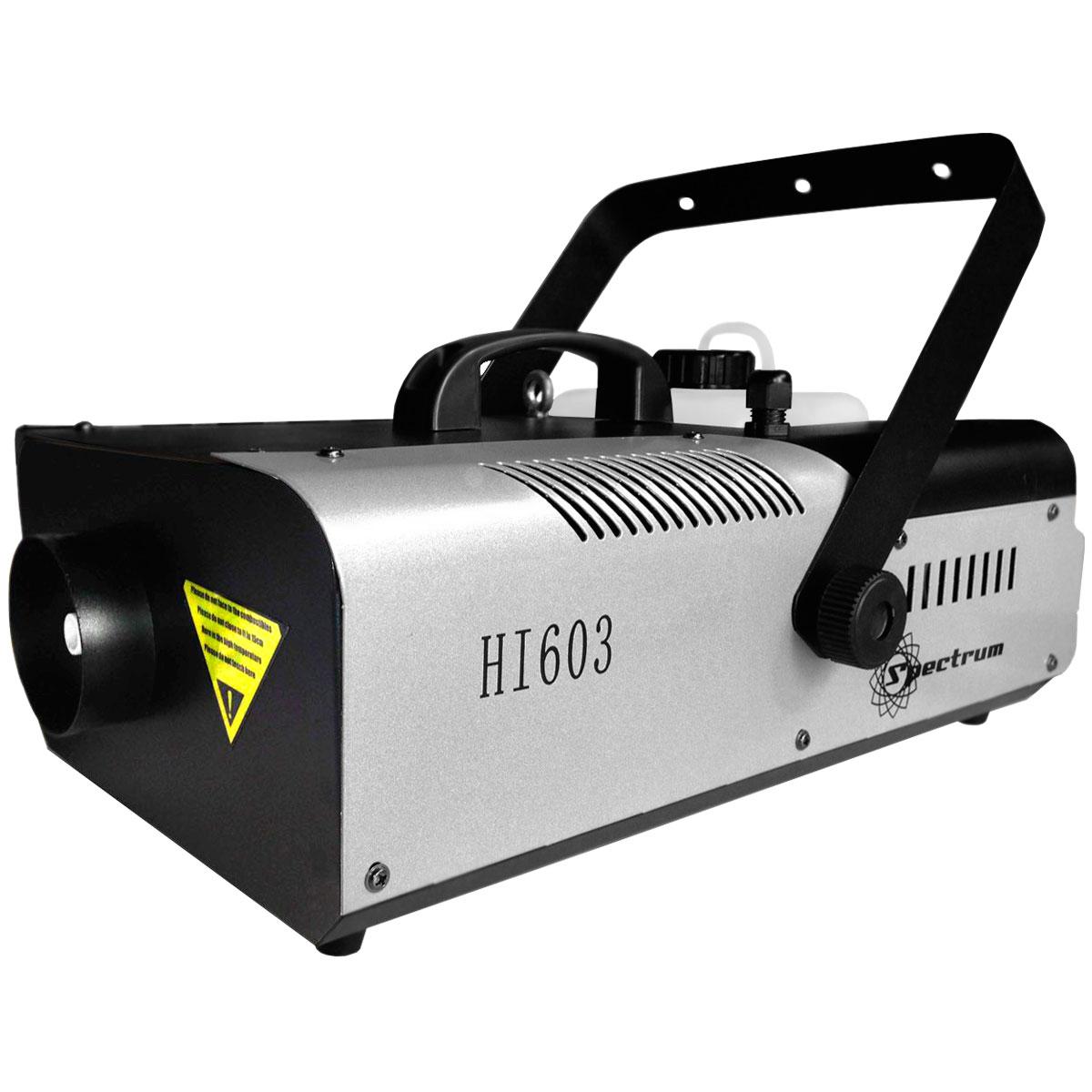 Máquina de Fumaça 1500W 220V c/ Controle Remoto HI-603 - Spectrum