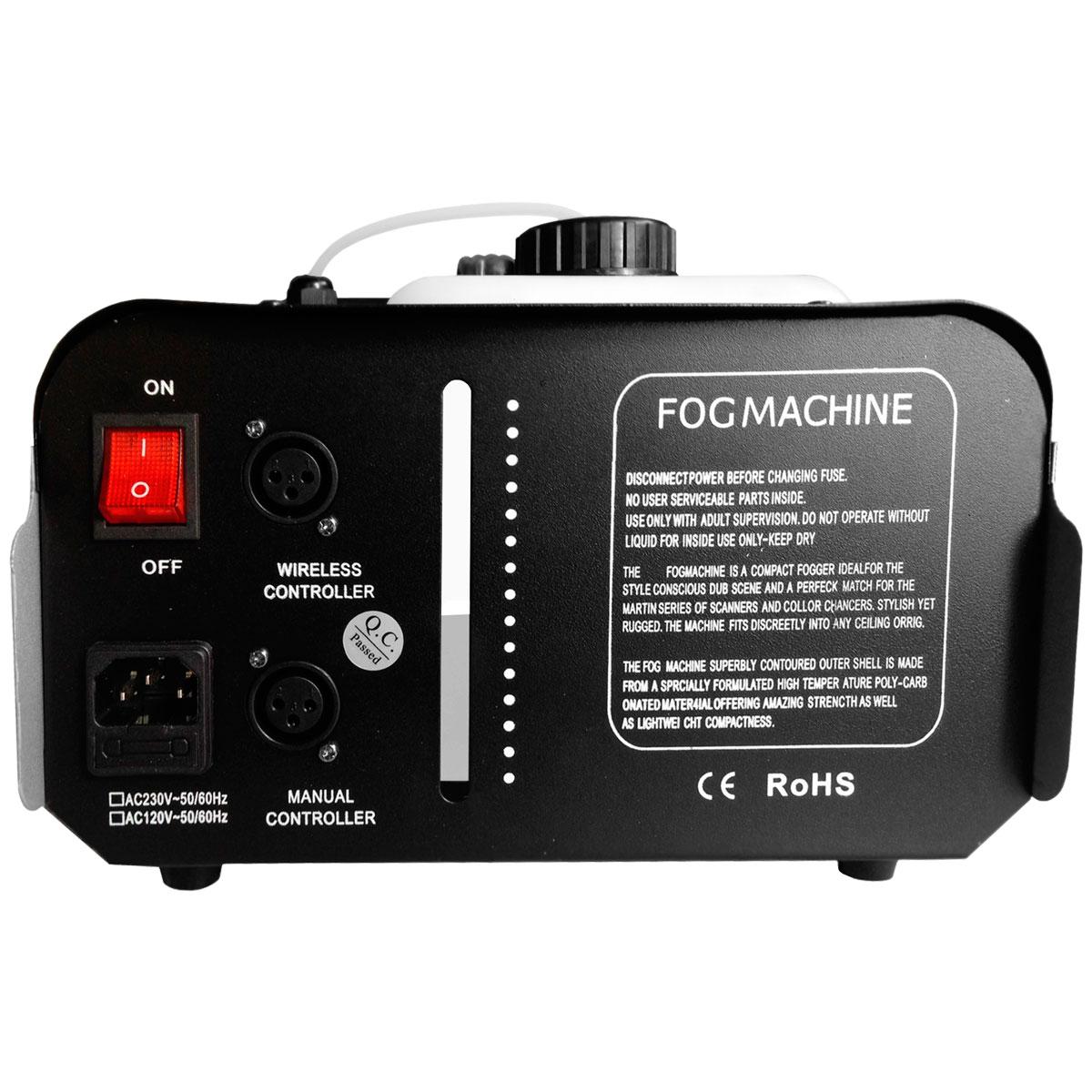 M�quina de Fuma�a 1500W 220V c/ Controle Remoto HI-603 - Spectrum
