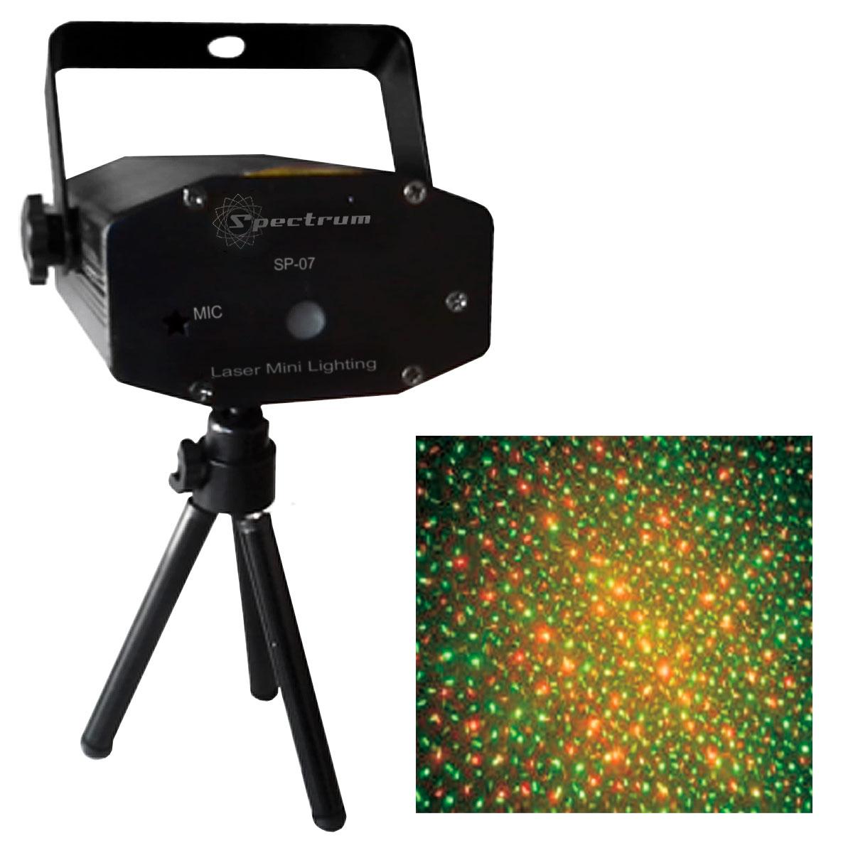 SP07 - Canhão de Laser Verde / Vermelho SP 07 - Spectrum