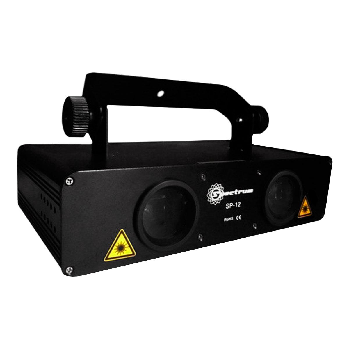 SP12 - Canhão de Laser Azul / Verde 2 Bocas SP 12 - Spectrum