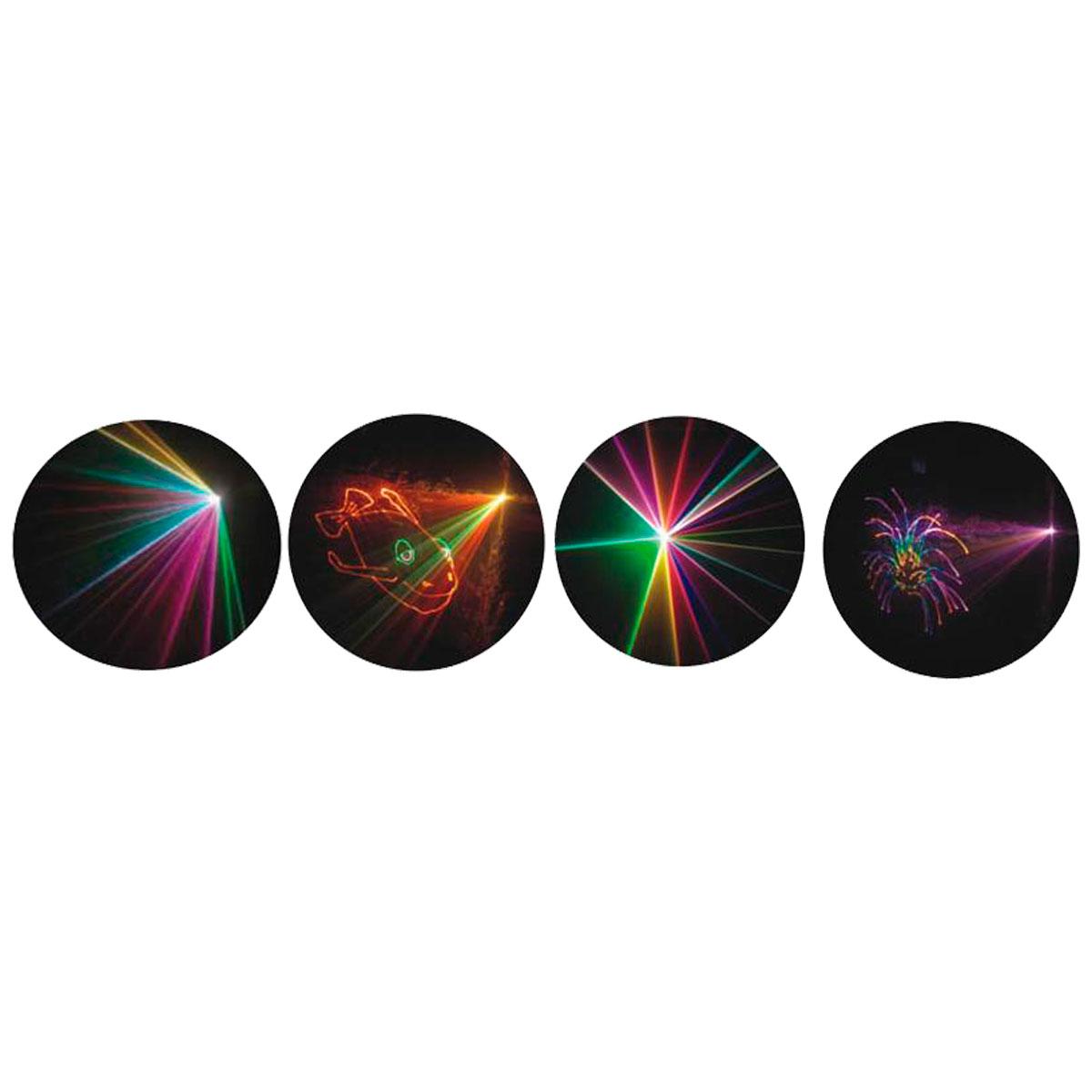 SP08 - Canhão de Laser RGB 1W SP 08 - Spectrum