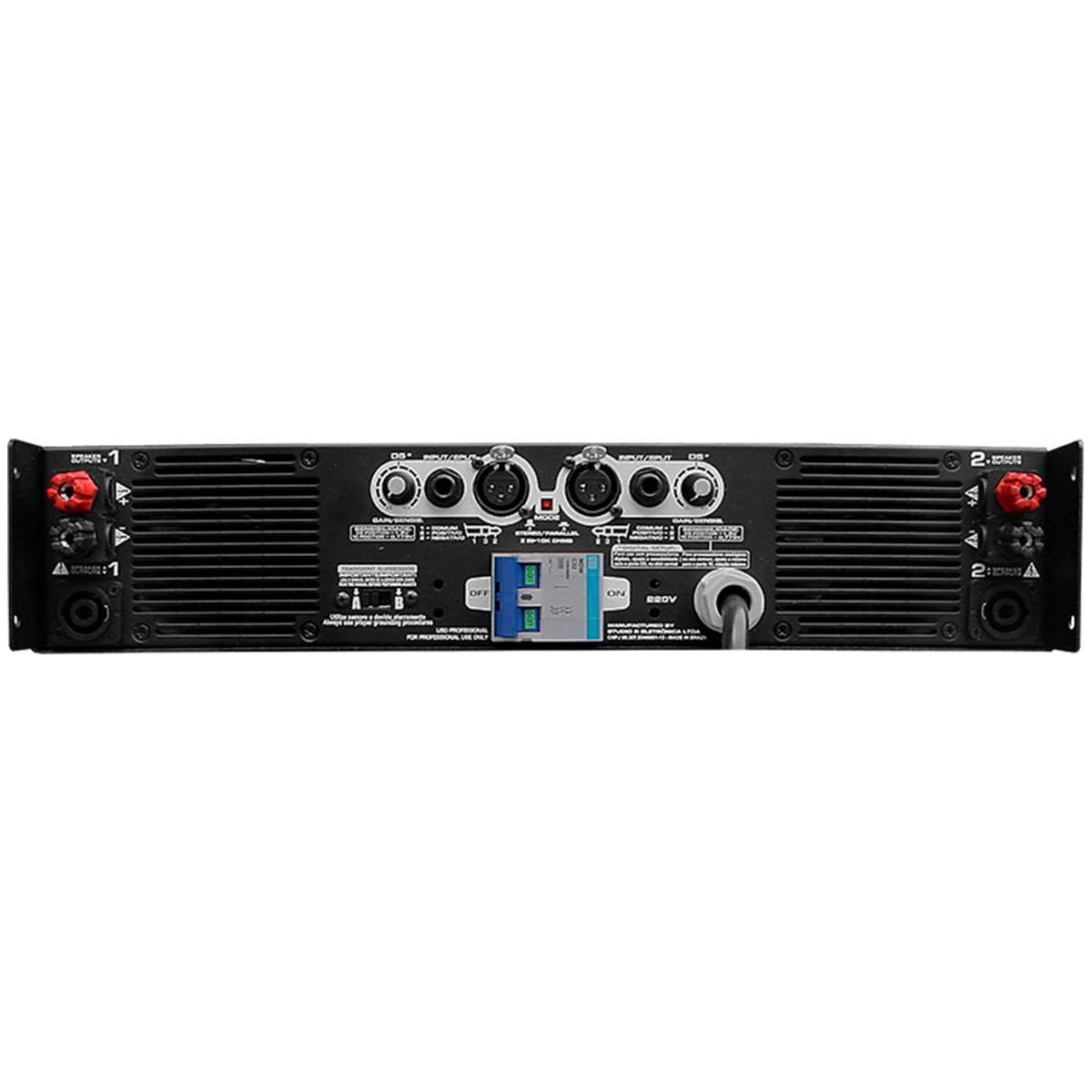 XD - Amplificador Est�reo 2 Canais 3600W XD Studio R