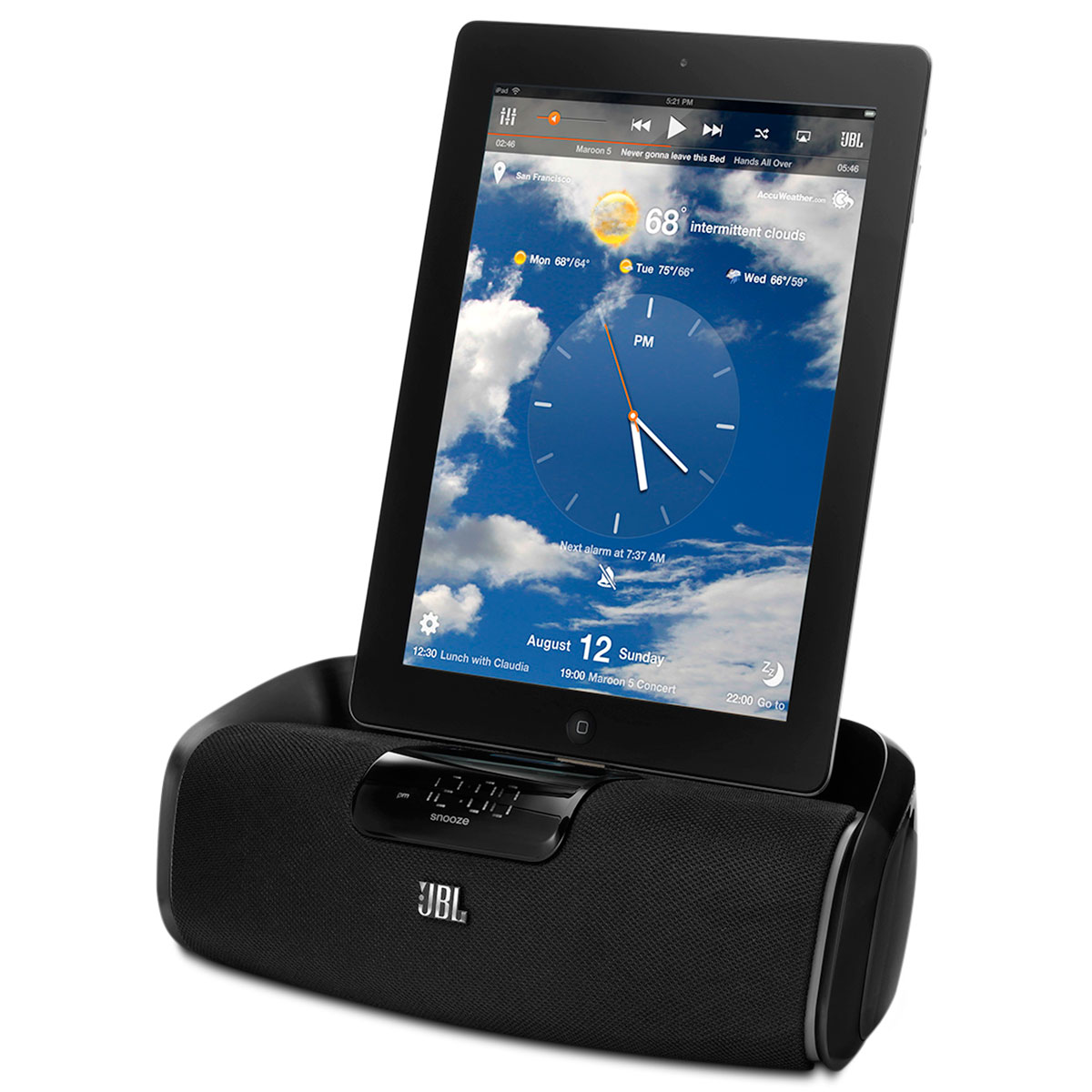 OnBeataWake - Dock Station p/ iPod / iPhone / iPad On Beat a Wake JBL