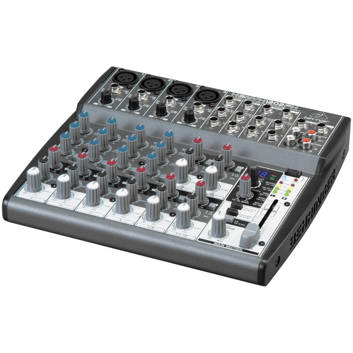 Xenyx1202FX - Mesa de Som / Mixer 12 Canais Xenyx 1202 FX - Behringer