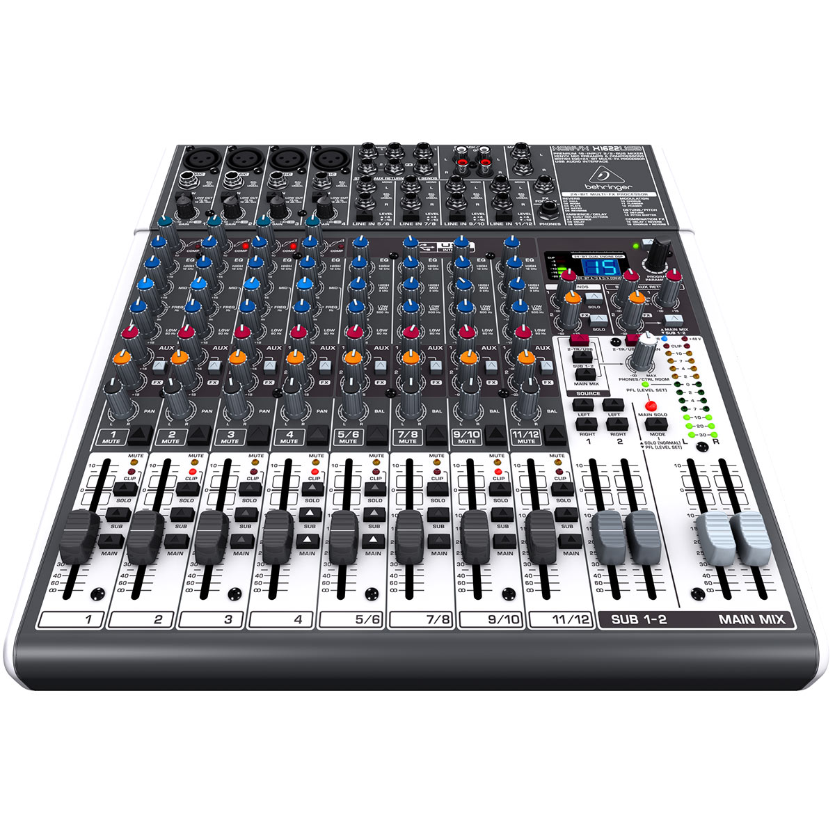 X1622USB - Mesa de Som / Mixer 16 Canais Xenyx X 1622 USB - Behringer