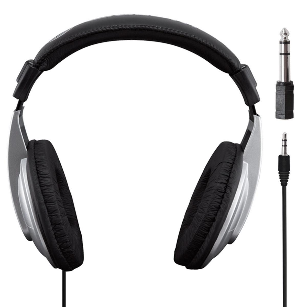 HP1000 - Fone de Ouvido Over-ear Prata PodStudio HP 1000 - Waldman