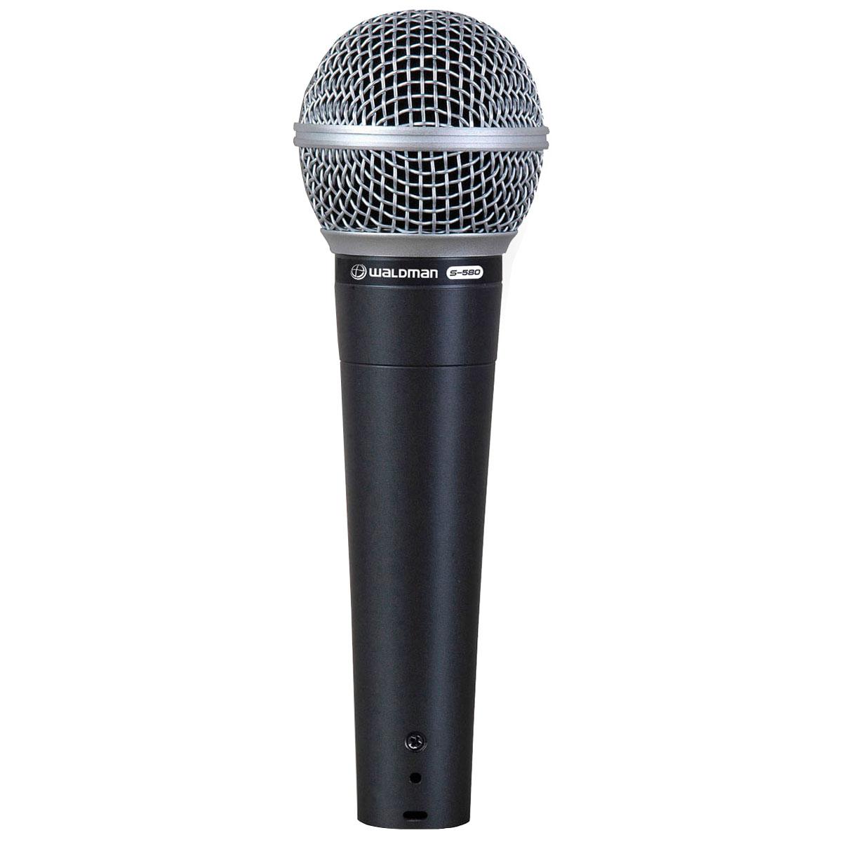 S2PM - Kit 2 Microfones c/ Fio Mão / Instrumento S2 PM - Waldman