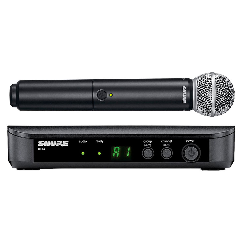 BLX24BRSM58 - Microfone s/ Fio de Mão BLX 24BR SM58 - Shure