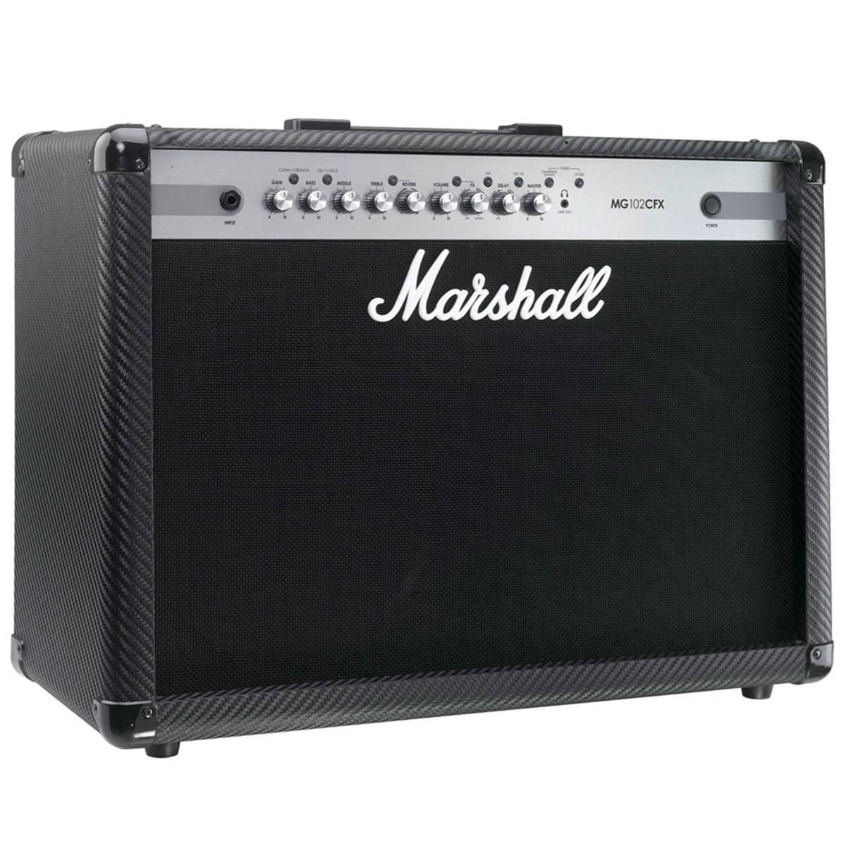 MG102CFX - Amplificador Combo p/ Guitarra Carbon Fiber MG 102 CFX - Marshall