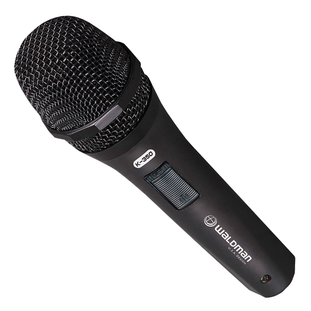 K350C - Microfone c/ fio de Mão K 350 C - Waldman