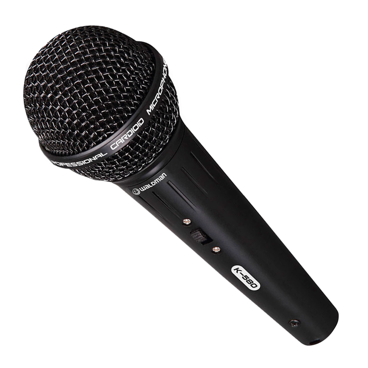 K580C - Microfone c/ Fio de Mão K 580 C - Waldman