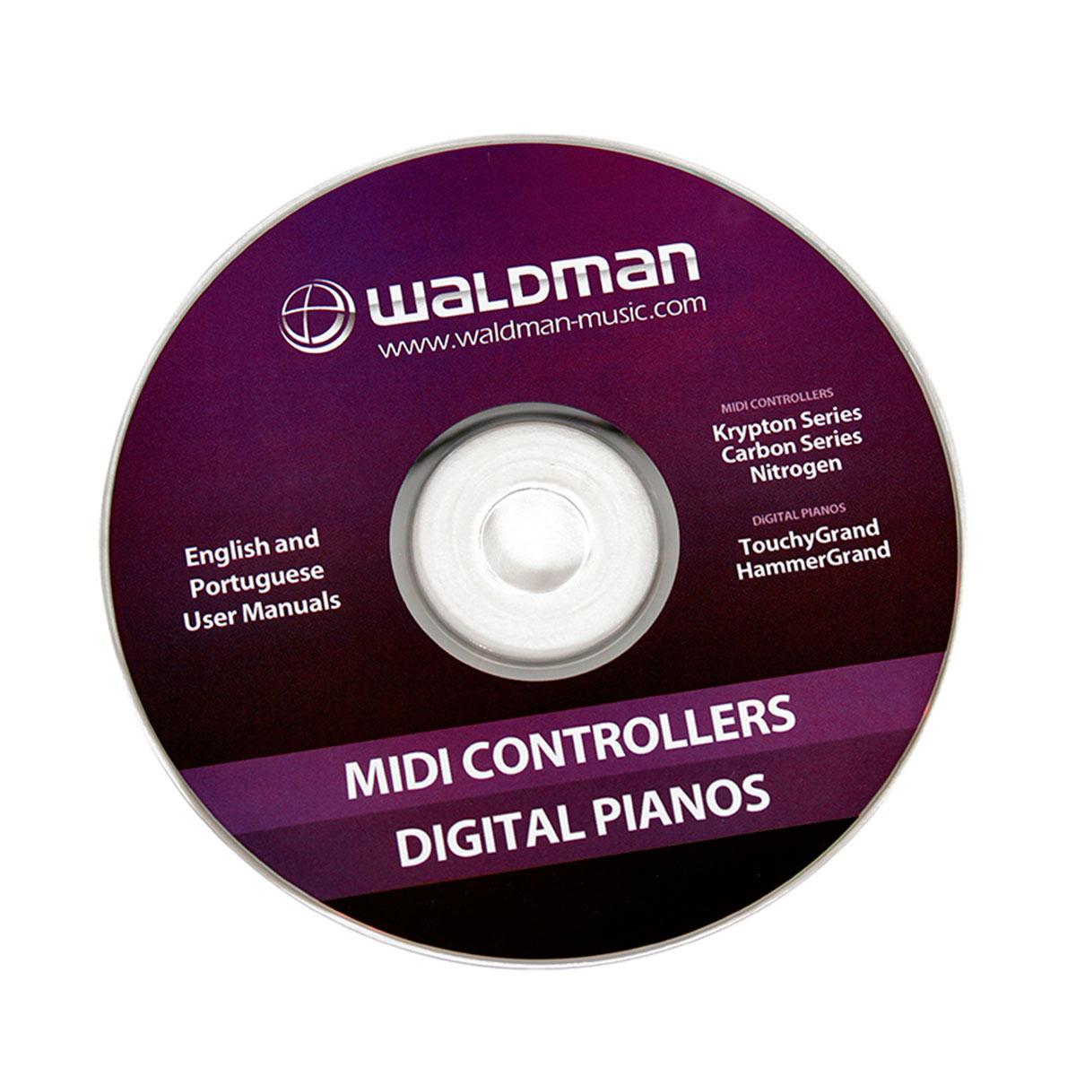 Carbon25 - Controlador Midi USB Carbon 25 - Waldman