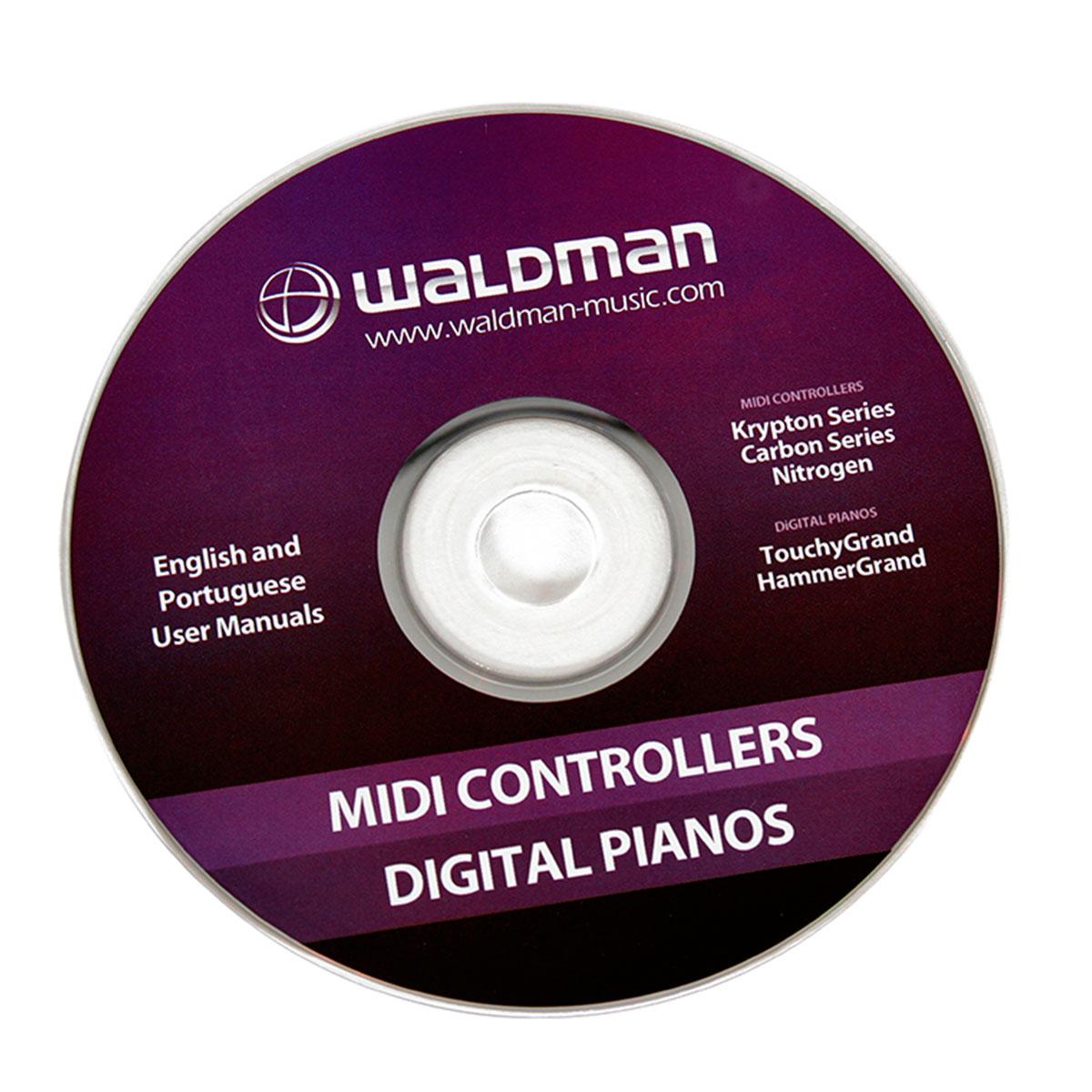 Carbon49 - Controlador Midi USB Carbon 49 - Waldman