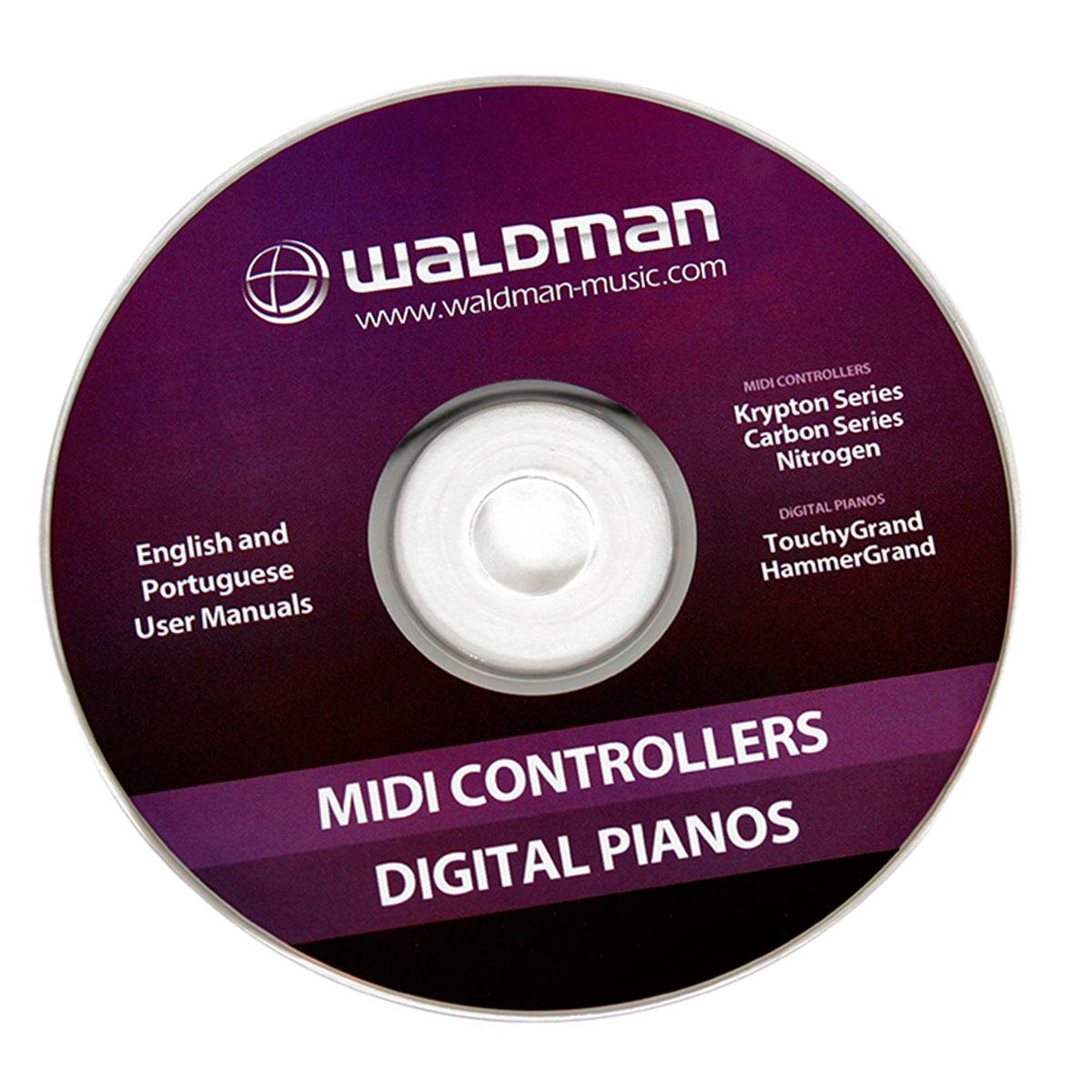 Carbon61 - Controlador Midi USB Carbon 61 - Waldman