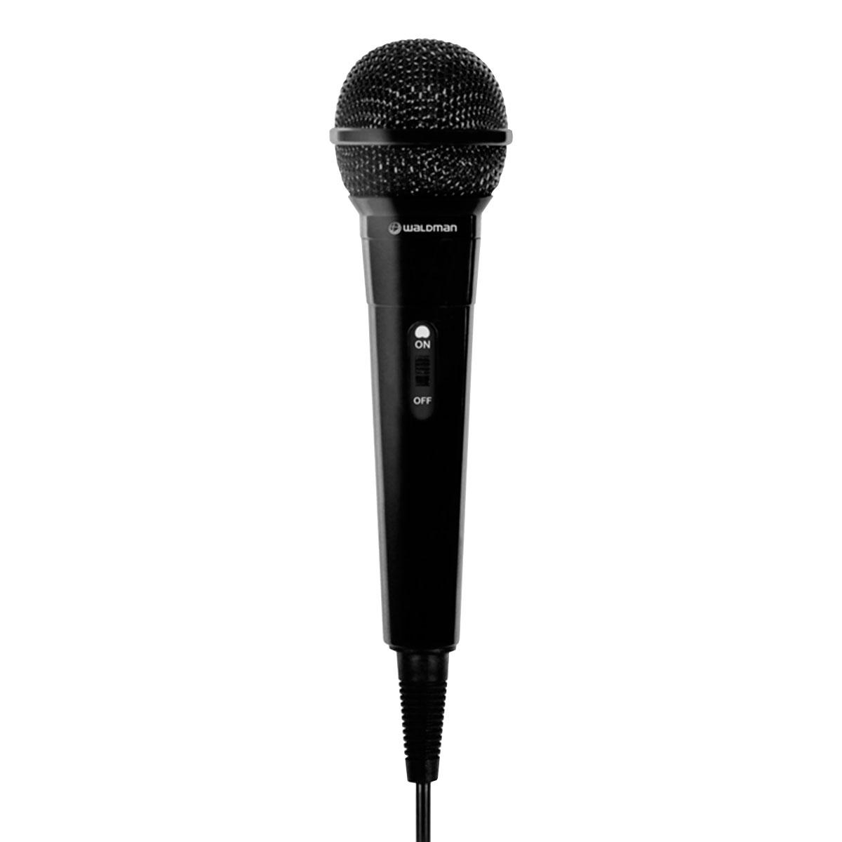 MIC100 - Microfone c/ Fio de Mão MIC 100 - Waldman