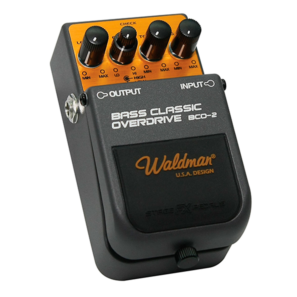 BCO2 - Pedal Contrabaixo Bass Classic Overdrive BCO 2 - Waldman