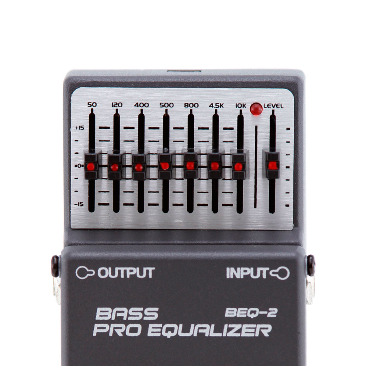 BEQ2 - Pedal Contrabaixo Bass Pro Equalizer BEQ 2 - Waldman