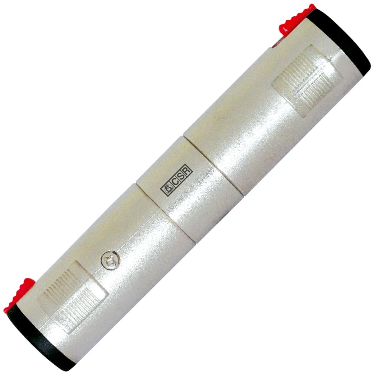 Adaptador P10 / P10 Femea com Trava Est�reo 1818N - CSR