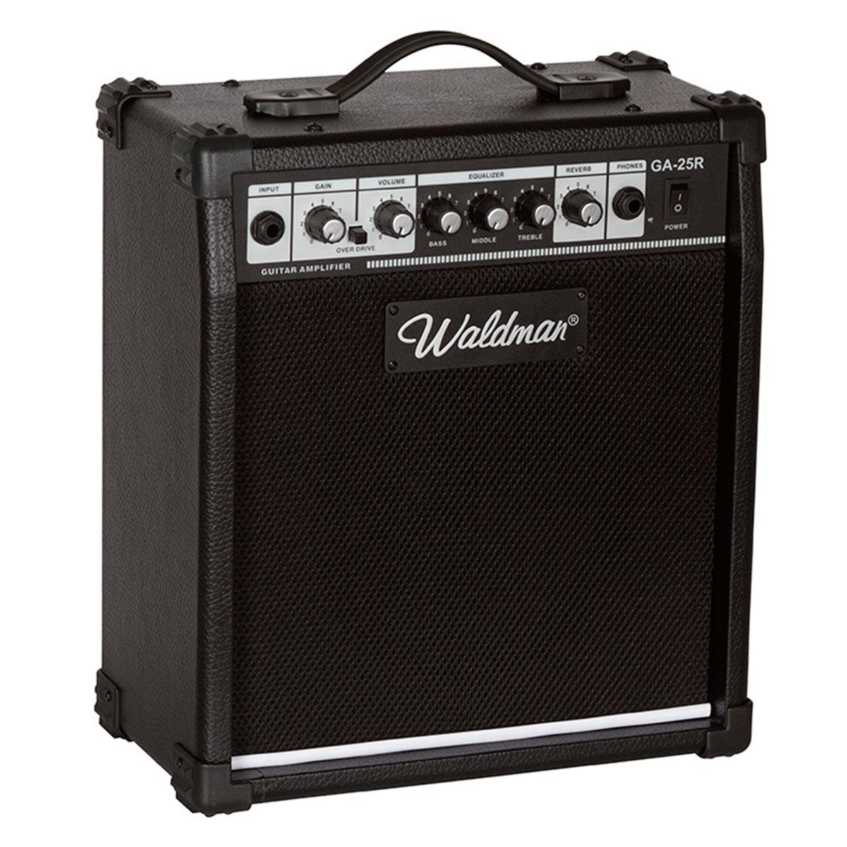 GA25R - Amplificador Combo p/ Guitarra 25W GA 25 R - Waldman