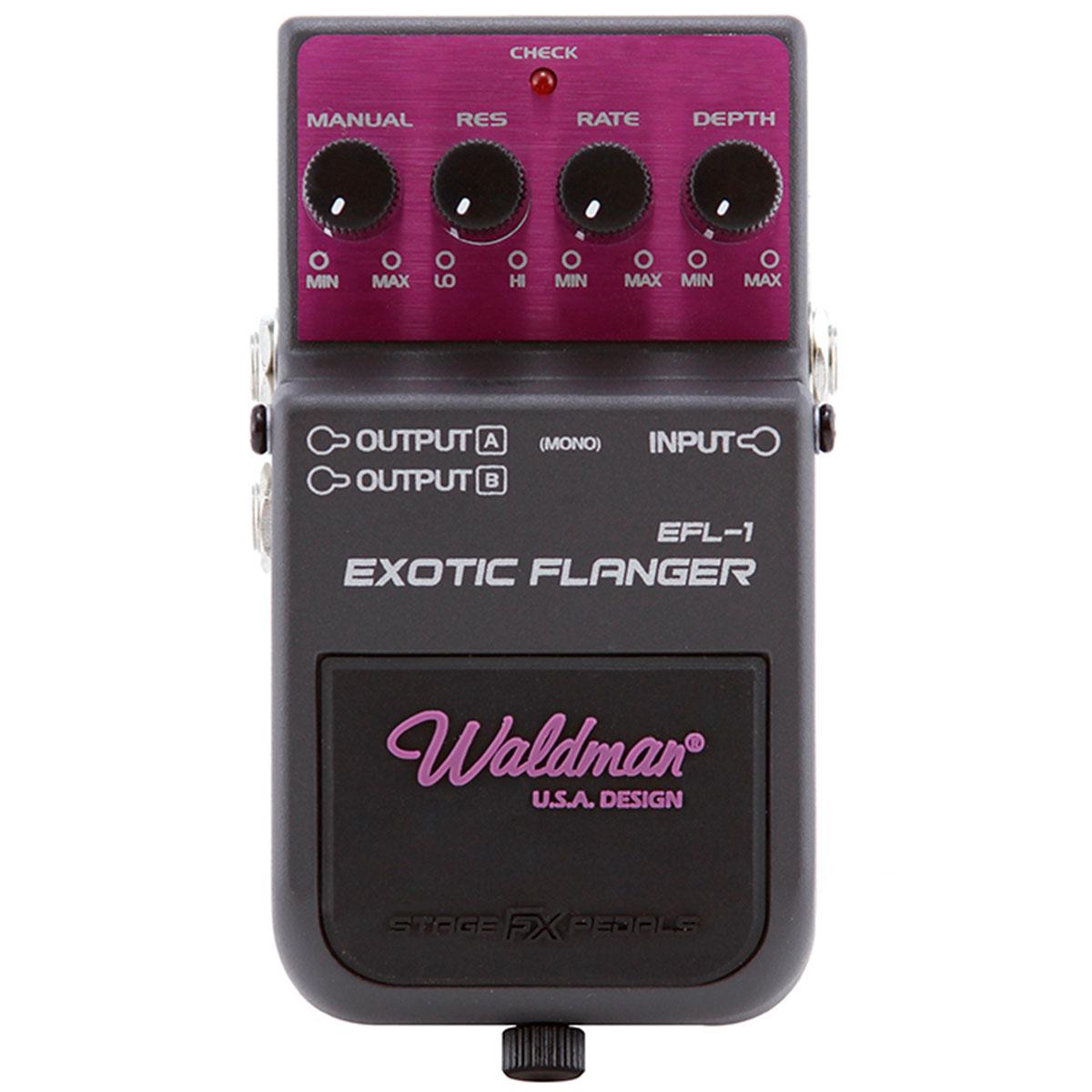 Pedal Guitarra EFL1 Exotic Flanger EFL 1 - Waldman