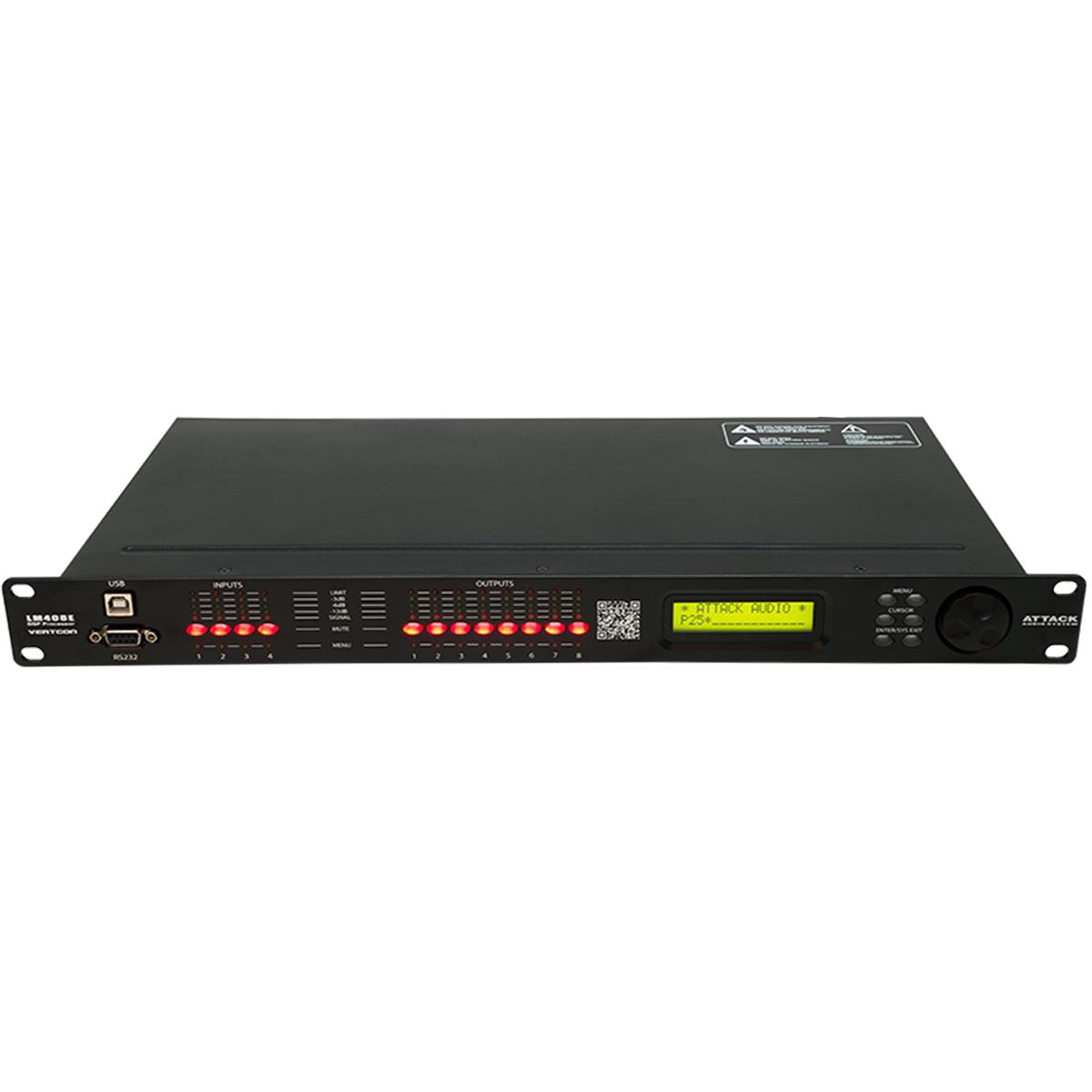 LM408E - Processador de Áudio Vertcon LM 408 E - Attack