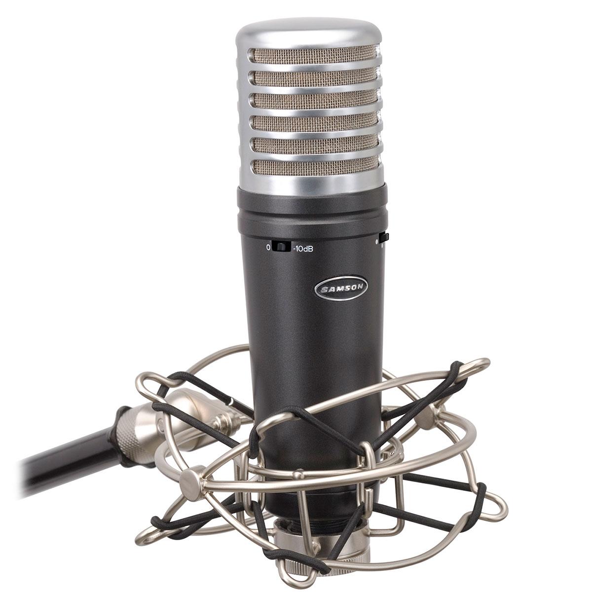 MTR231A - Microfone c/ Fio p/ Estúdio MTR 231 A - Samson