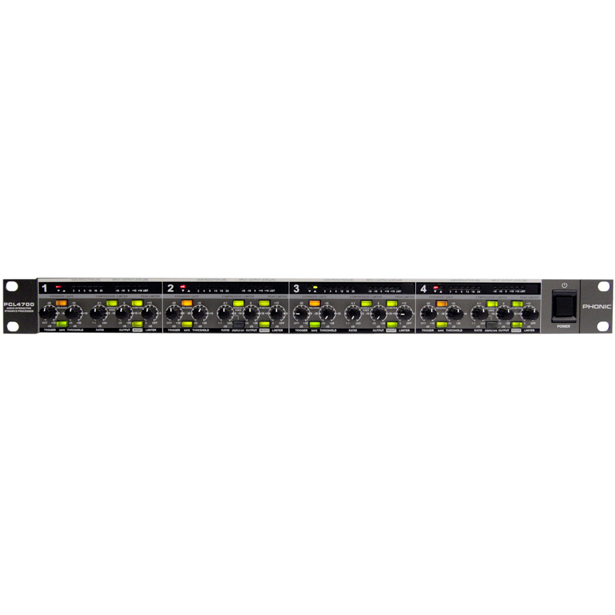 PCL4700 - Processador de Áudio PCL 4700 - Phonic