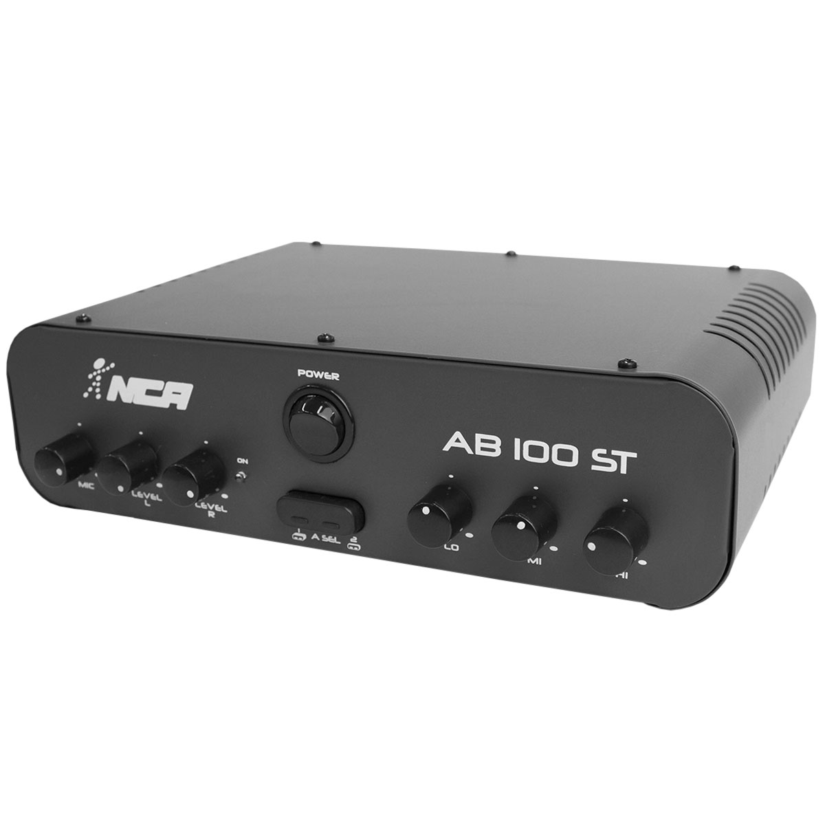 AB100ST - Amplificador Som Ambiente Estéreo 60W AB 100 ST - NCA
