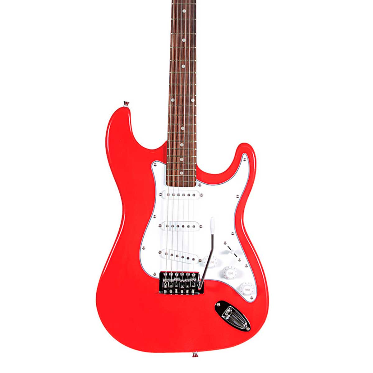Guitarra ST111 Strato Street Vermelha ST 111 - Waldman
