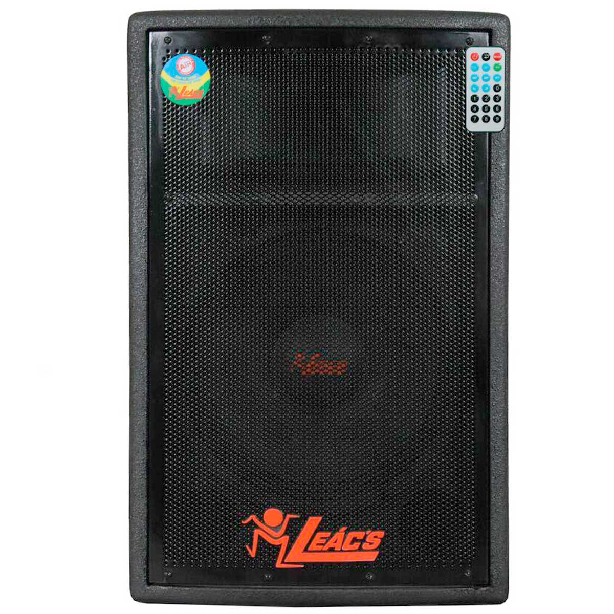 550A - Caixa Ativa 200W c/ Player USB Pulps 550 A - Leacs
