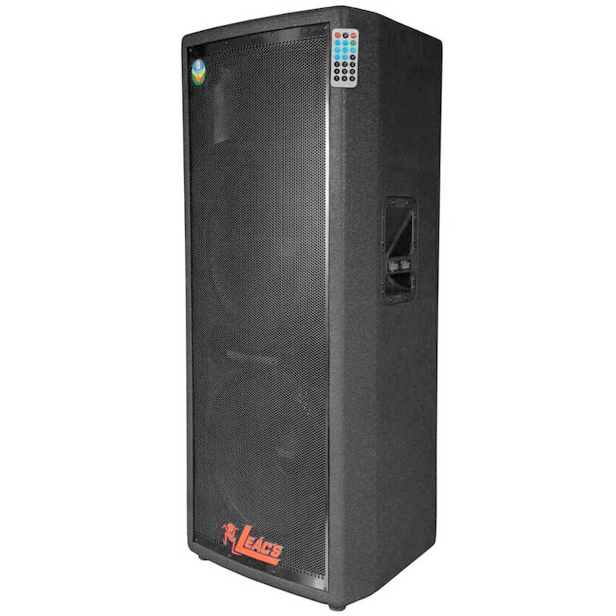 Caixa Ativa Fal 2x15 Pol 500W c/ USB - Pulps 950 A Leacs