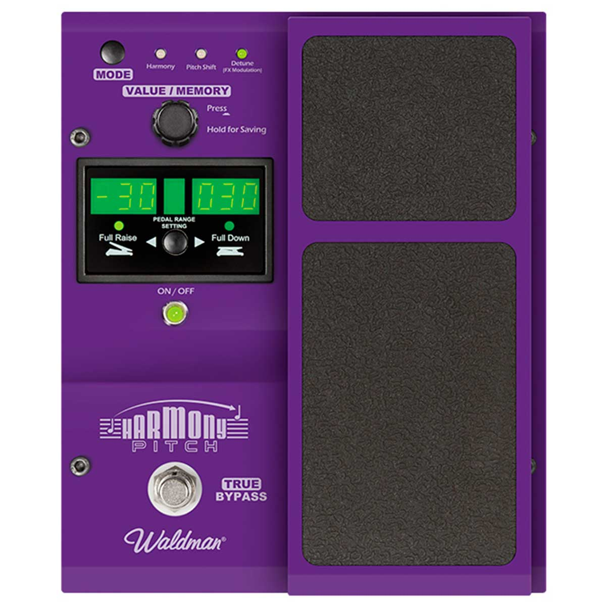 Pedal Guitarra HP100 Harmony Pitch HP 100 - Waldman